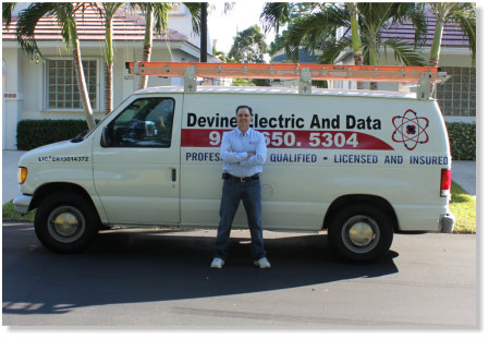 Devine Electric & Data, Serving South Florida including Deerfield Beach and Boca Raton