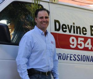 James Devine of Devine Electric & Data